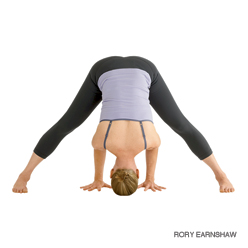 Prasarita Padottanasana | Wide-Legged Forward Bend